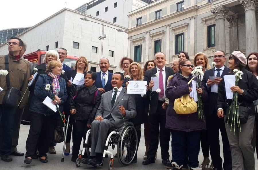 Aprobada la reforma que garantiza el derecho a voto a personas con discapacidad