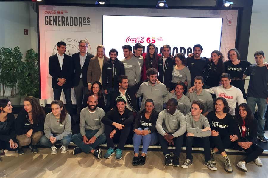 Coca-Cola 'encierra' a 25 jóvenes para buscar soluciones a problemas sociales