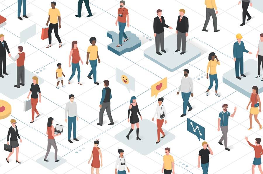 Administraciones públicas conectadas. Cinco ventajas de estar en redes sociales
