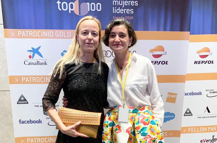 María L. Escorial y Katharina Miller, en el 'top 100' de mujeres líderes en España