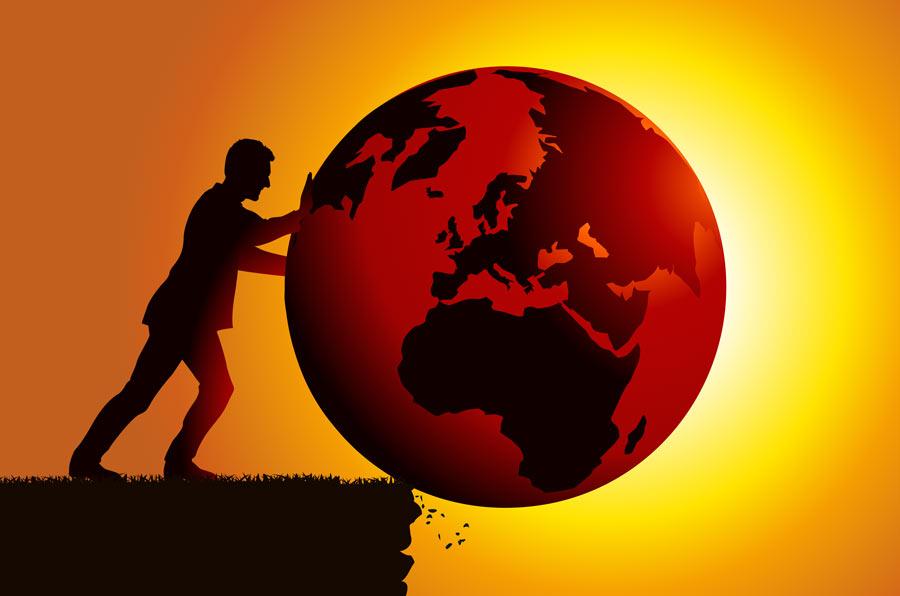Cambio climático: cuesta abajo y sin frenos