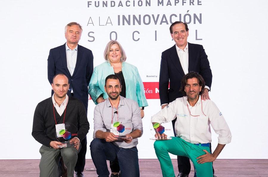 Tres iniciativas ganan los primeros Premios Fundación Mapfre a la Innovación Social