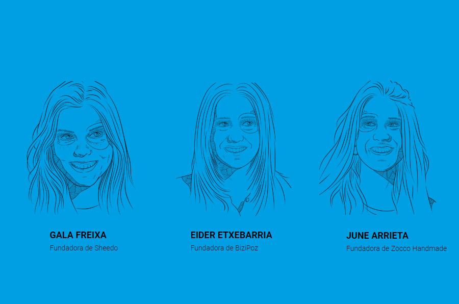 Tres emprendedoras de la Universidad de Mondragón, en la lista Forbes '30 under 30'