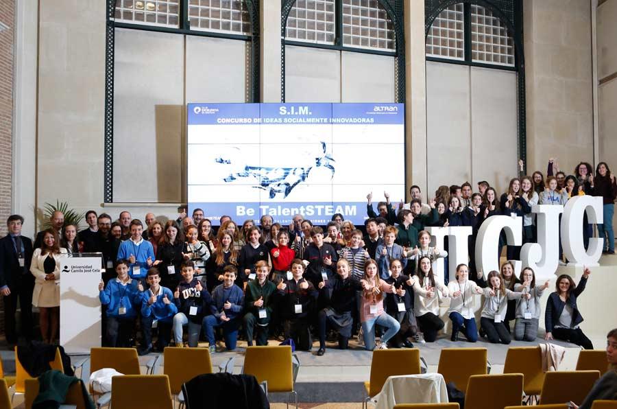 Be TalentSteam promueve la innovación social entre los escolares madrileños
