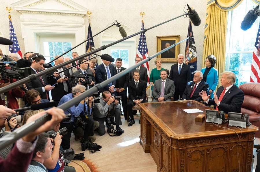 La Casa Blanca de Trump y la (no) transparencia