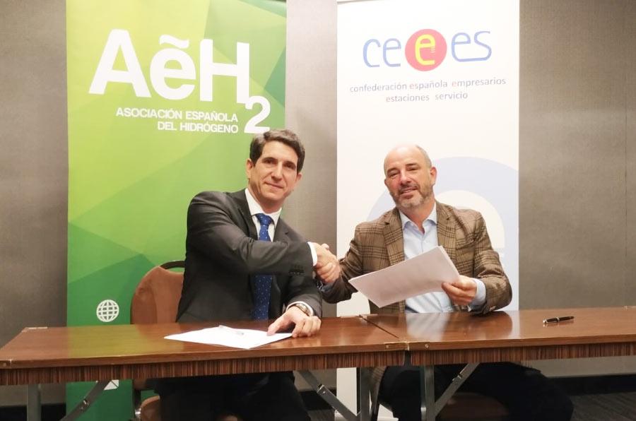 Acuerdo de colaboración para impulsar el hidrógeno como combustible en el transporte