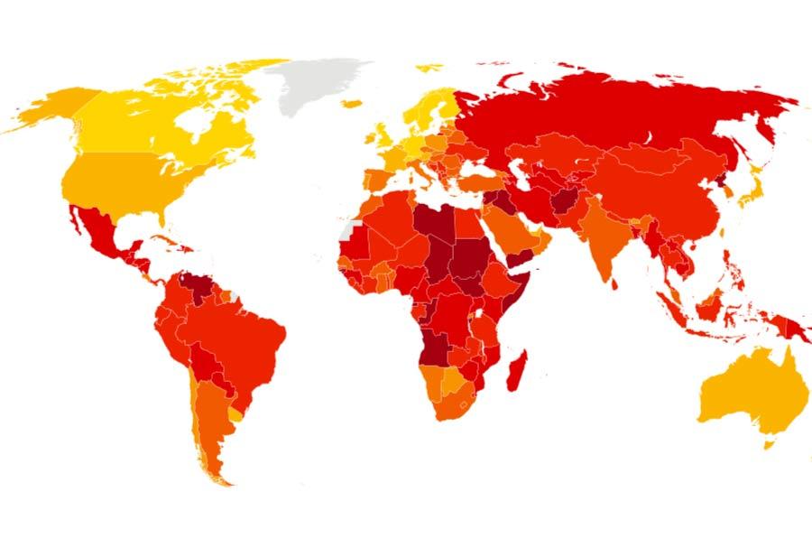 España sigue a la cola de Europa en el Índice de la Percepción de la Corrupción