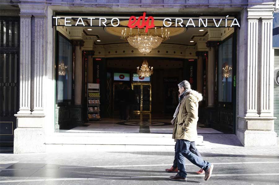 El nuevo Teatro EDP Gran Vía medirá y donará la energía generada por el público