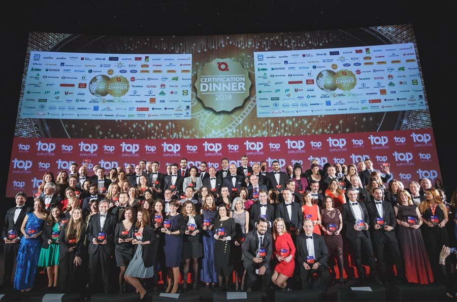 Top Employers 2019: Las mejores 102 compañías para trabajar en España