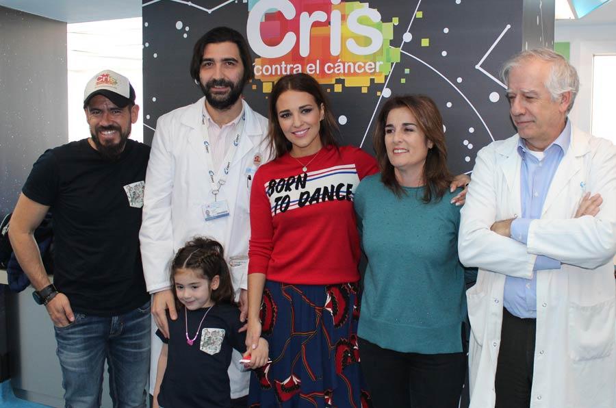 <p>Paula Echevarría visita la Unidad CRIS de Investigación y Terapias Avanzadas de Cáncer Infantil</p>