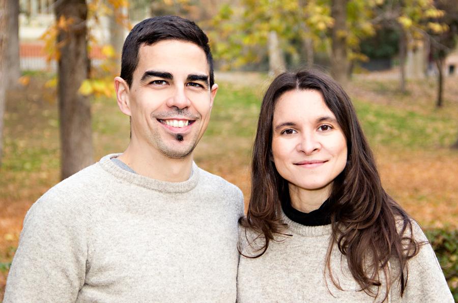 <p>Javier Benito y Esther Chamorro, fundadores de dLana.</p>