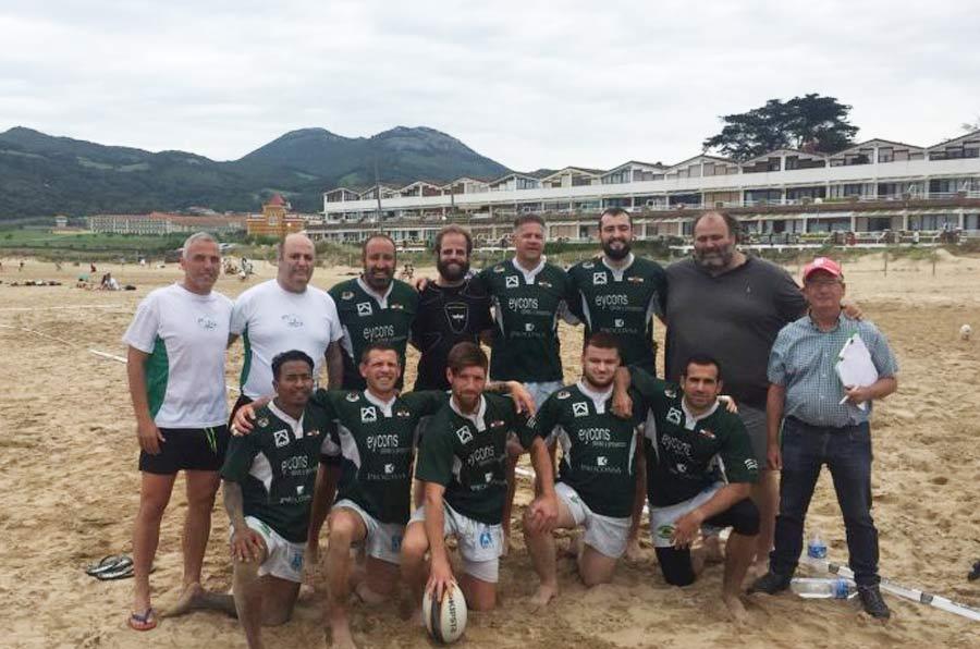<p>Equipo de rugby de Tristán 'Chucho' Mozimán.</p>