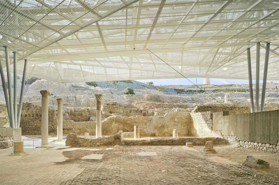 <p>Parque Arqueológico de El Molinete.Foto: David Frutos y Amann-Cánovas-Maruri</p>