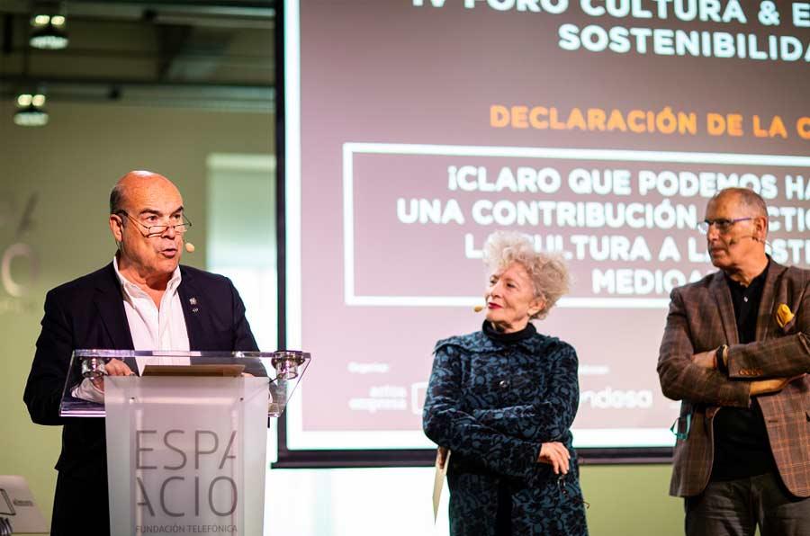 <p>Antonio Resines, Magüi Mira y Robert Muro.</p>