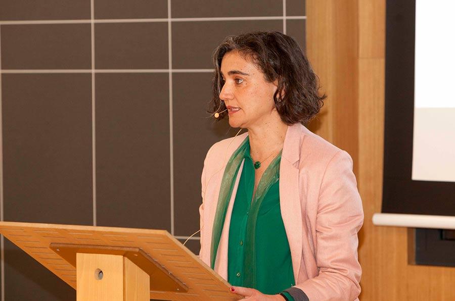 <p>María López Escorial, presidenta de Fundación Compromiso y Transparencia.</p>