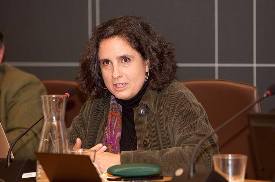 <p>Marta Rey, profesora contratada doctora de la Facultad de Economía y Empresa de la Universidad de A Coruña.</p>