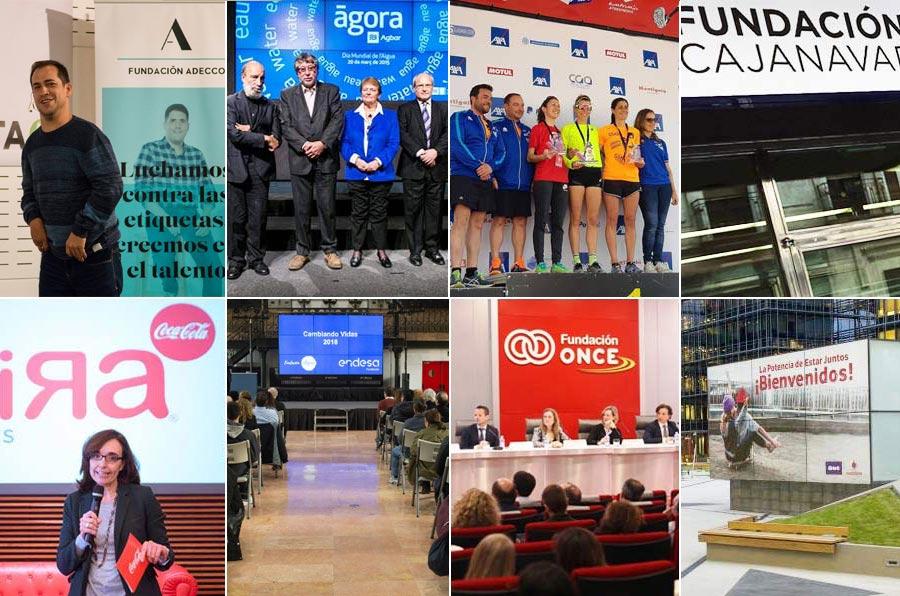 Adecco, Agbar, Axa, Caja Navarra, Coca Cola, Endesa, Once y Vodafone, líderes en transparencia de fundaciones empresariales