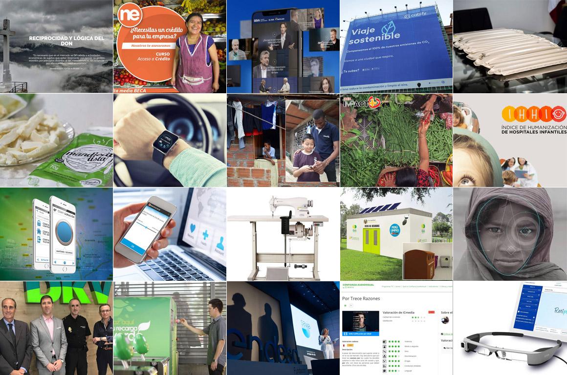 Vota 'Las 10 iniciativas sociales más innovadoras de 2018'
