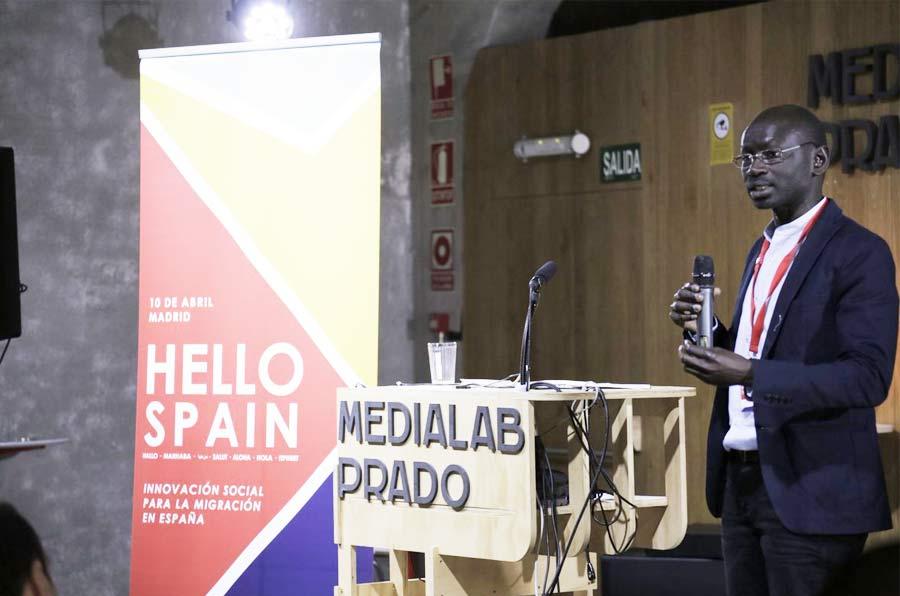 <p>Abdoulaye Fall, codirector de Hello Spain, iniciativa de Ashoka. </p>