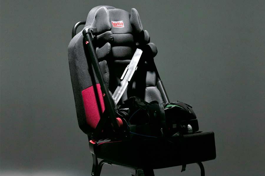 Una silla de retención infantil para todas las edades y portátil, mejor 'startup' de seguridad vial