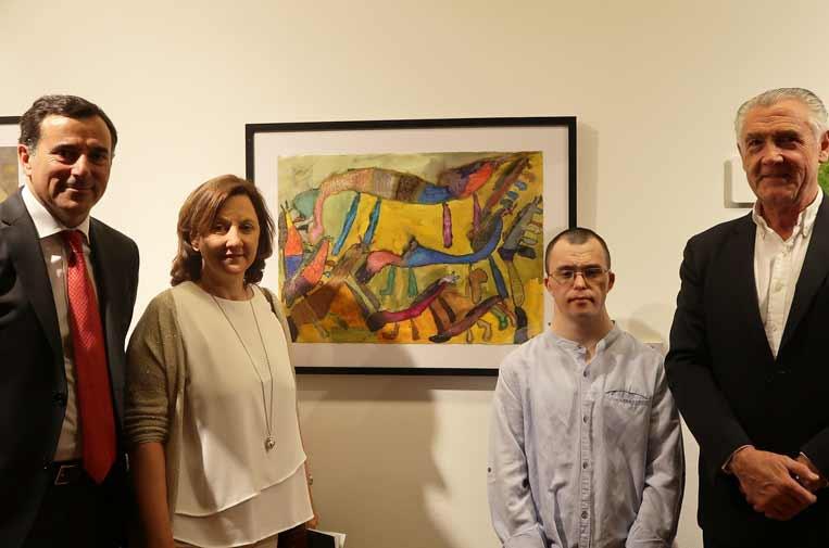 Artistas con síndrome de Down reivindican sus capacidades creativas