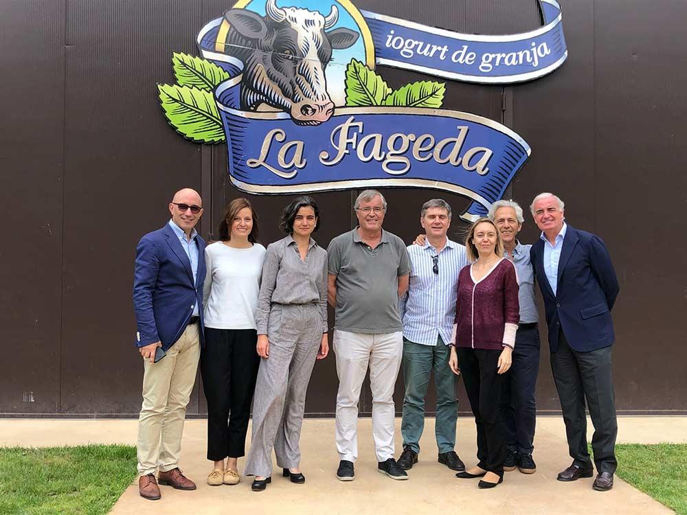 <p>Reunión en La Fageda del consejo asesor de la Fundación Compromiso y Transparencia en junio de 2018.</p>