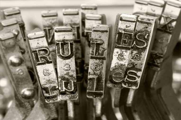 Los estatutos de redacción y la independencia
