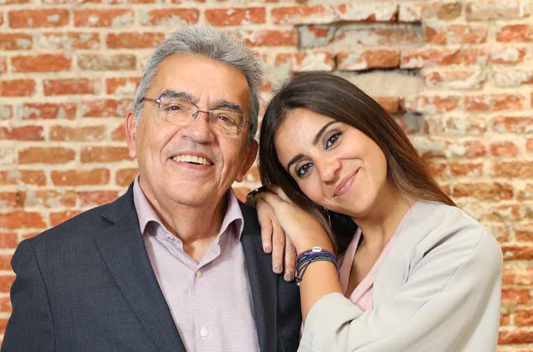 <p>José Manuel de Ben y María Fernández.</p>