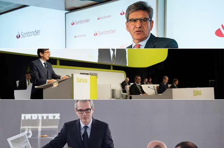 Banco Santander, Bankia e Inditex entran al índice de sostenibilidad Euronext Vigeo Eurozona