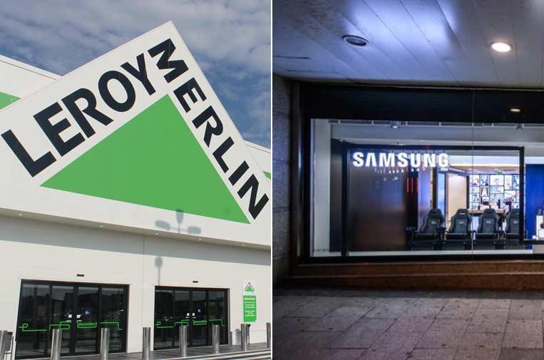 Leroy Merlin y Samsung, únicas extranjeras que publican un informe de su contribución en España