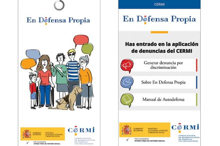 Nueva 'app' para denunciar la vulneración de derechos de personas con discapacidad