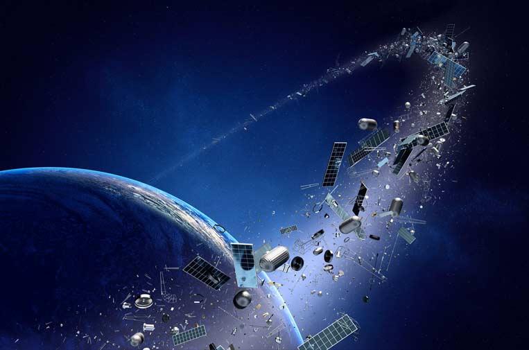 Basura espacial, ¿una contaminación lejana?