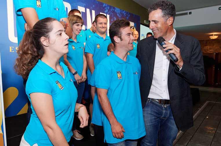 <p>La Fundación Miguel Induráin ayuda al desarrollo de ciclistas y apoya el deporte adaptado.</p>