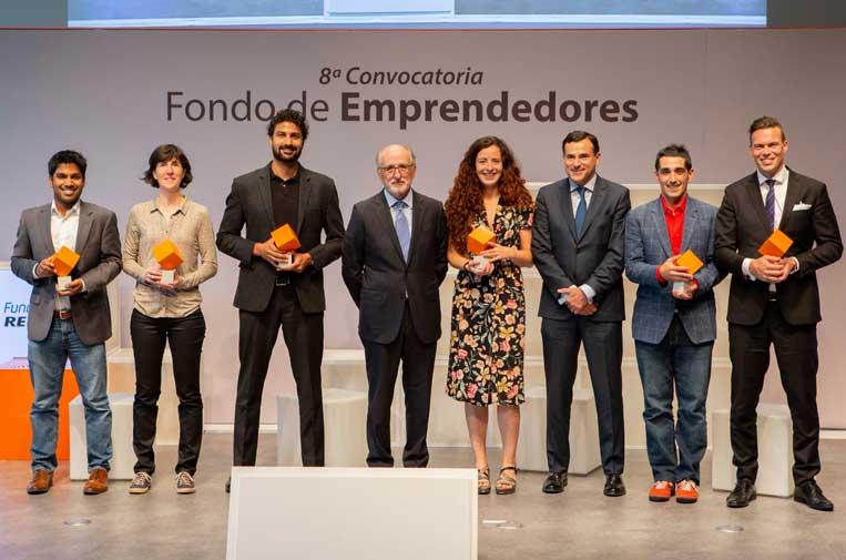 <p>Ganadores de la 8ª convocatoria del Fondo de Emprendedores de Fundación Repsol.</p>