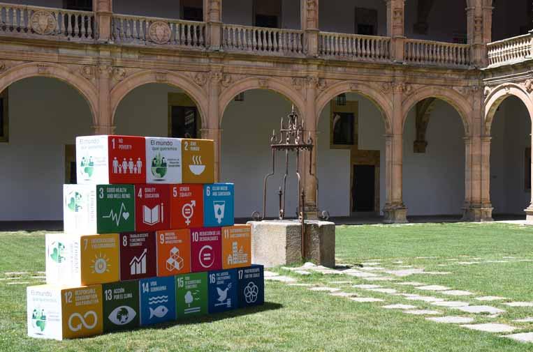 <p>Universidad de Salamanca, donde se celebró la I Conferencia Iberoamericana sobre Objetivos de Desarrollo Sostenible, organizada junto a la Politécnica de Madrid e Iberdrola.</p>