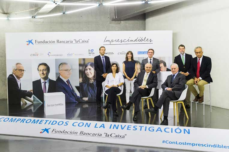 """<p>La Fundación Bancaria """"la Caixa"""" rinde homenaje a los investigadores médicos. Foto: """"La Caixa"""".</p>"""