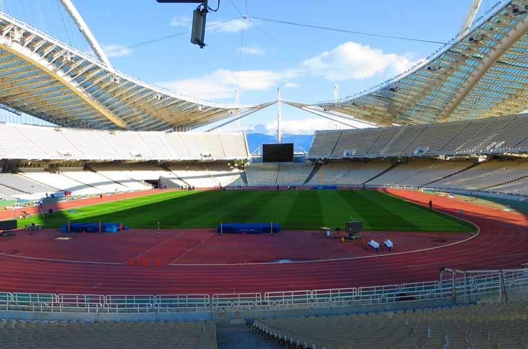 <p>Estadio Olímpico de Atenas. Foto: Mister No </p>