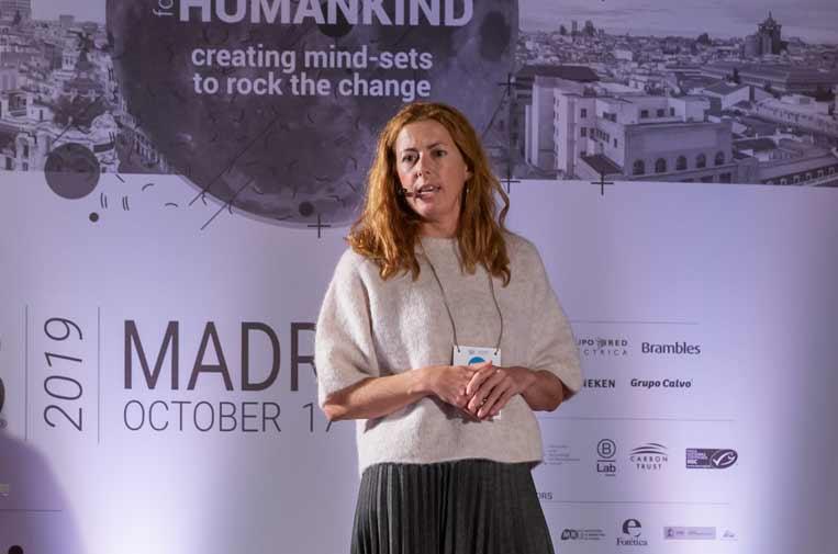 <p>Silvia Bruno de la Cruz, directora de Tecnología e Innovaciónde Red Eléctrica de España. Foto: Quiero.</p>