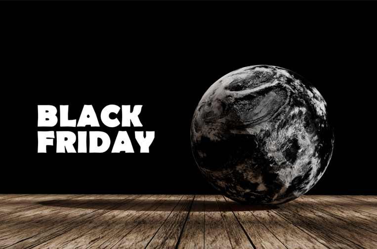 Black Friday, Cyber Monday... días negros para la sostenibilidad