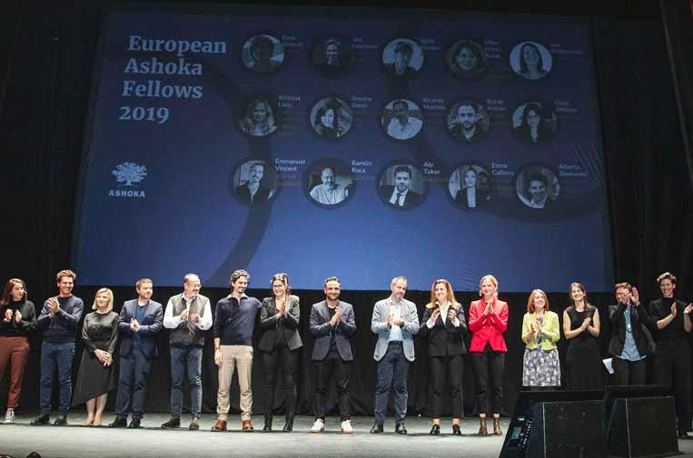 16 nuevos emprendedores europeos, 4 españoles, se unen a la red de Ashoka