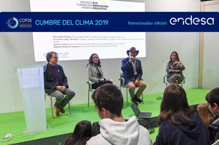<p>Ignacio Cubero, Instituto Los Castillos; Begoña Muñoz de Berguer, Fundación Endesa; Fernando López Mirones, biólogo y profesor, y Mercedes Esteban, Sociedad y Educación.</p>