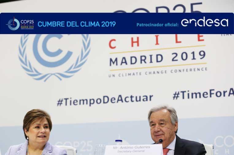 Comienza la COP25, con Endesa como patrocinador platino