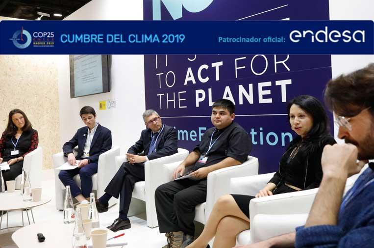 El papel de los jóvenes en la lucha contra el cambio climático llega a la COP25