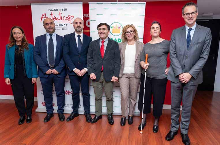 Mercadona y Fundación Once apuestan por la plena inclusión de las personas con discapacidad