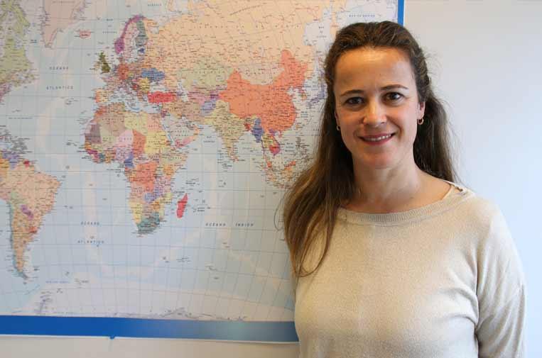 <p>Diana Valcárcel, directora de Comunicación de Unicef Comité Español. ©Unicef</p>