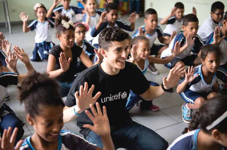 """""""Los embajadores de Unicef permiten llevar nuestro mensaje muy lejos"""""""