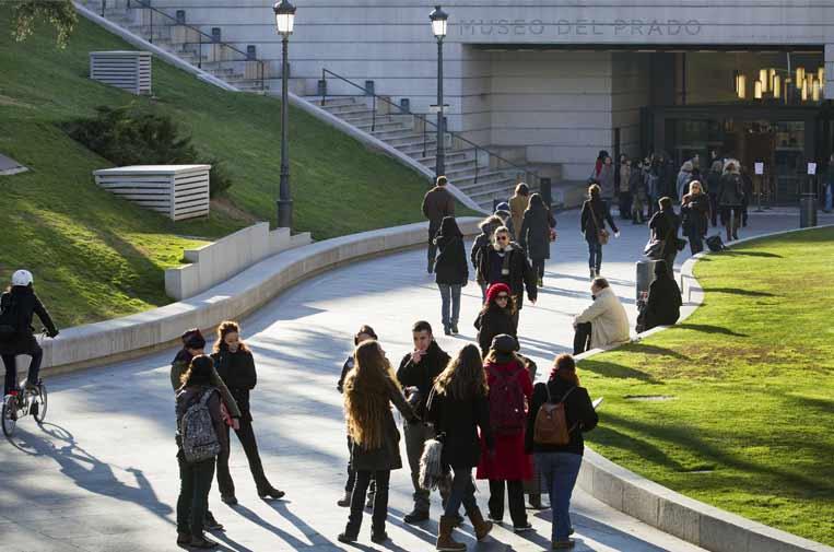 El Museo del Prado publica semanalmente en su web la cifra de visitantes