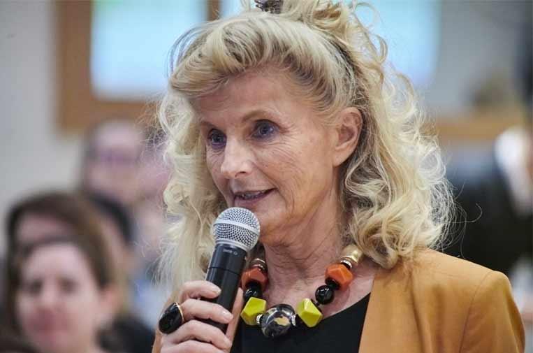 <p>Isabel Tocino, la vicepresidenta del Consejo de Santander España.</p>