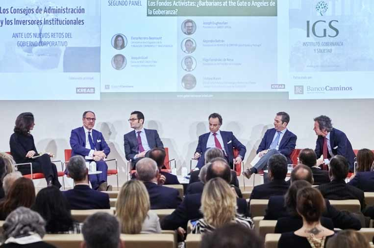 El papel de los inversores internacionales en el buen gobierno de las empresas españolas