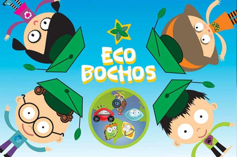 <p>Ecobochos, la aplicación móvil para que los niños aprendan jugando sobre sostenibilidad.</p>